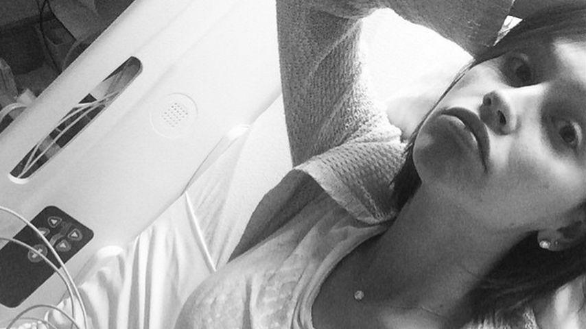 Nach Autounfall: Schwangere Lisa Osbourne im Krankhenhaus