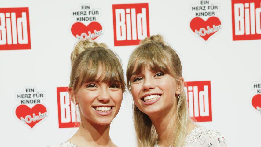 """Lisa und Lena bei """"Ein Herz für Kinder"""" im Dezember 2018"""