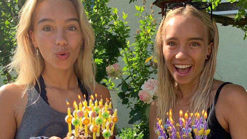 Webstars Lisa und Lena an ihrem 17. Geburtstag