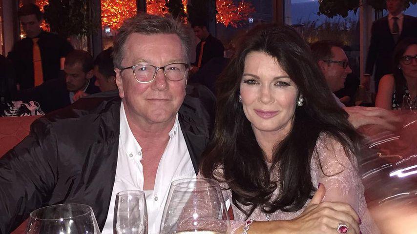 Lisa Vanderpump und ihr Bruder Mark