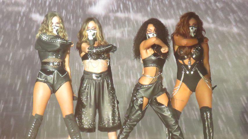 Little Mix bei einem Auftritt in Schottland im Oktober 2017