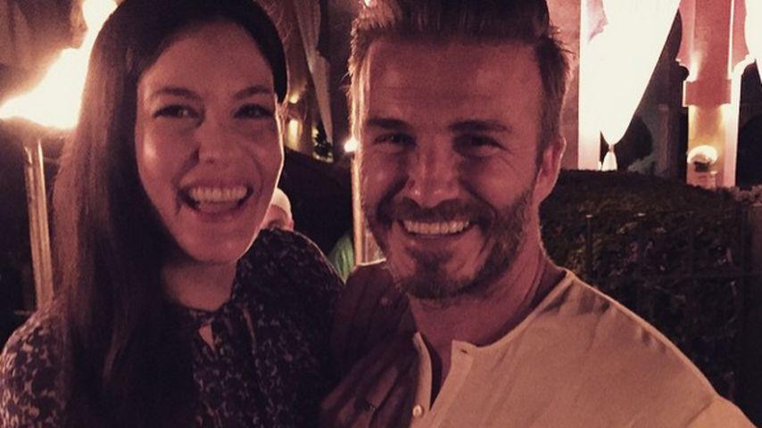David Beckham und Liv Tyler