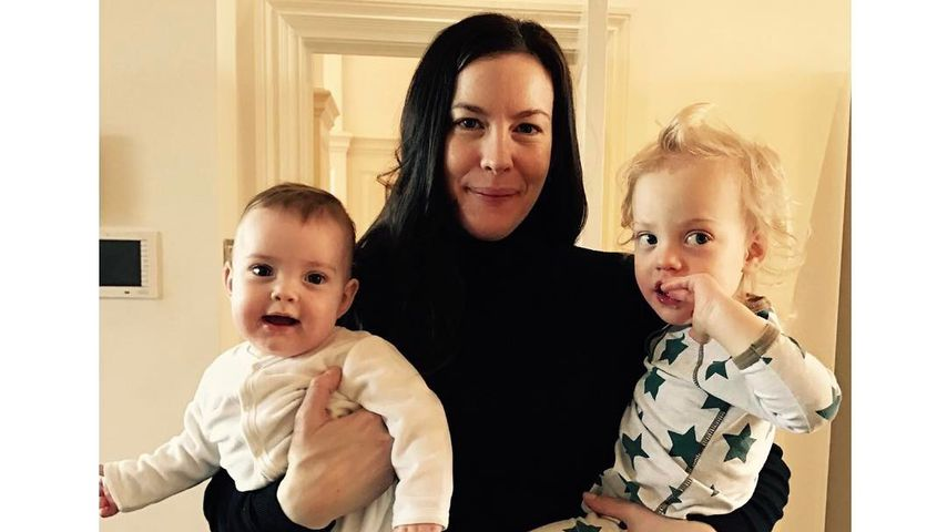 Liv Tyler mit ihren Kindern Lula Rose und Sailor Gene