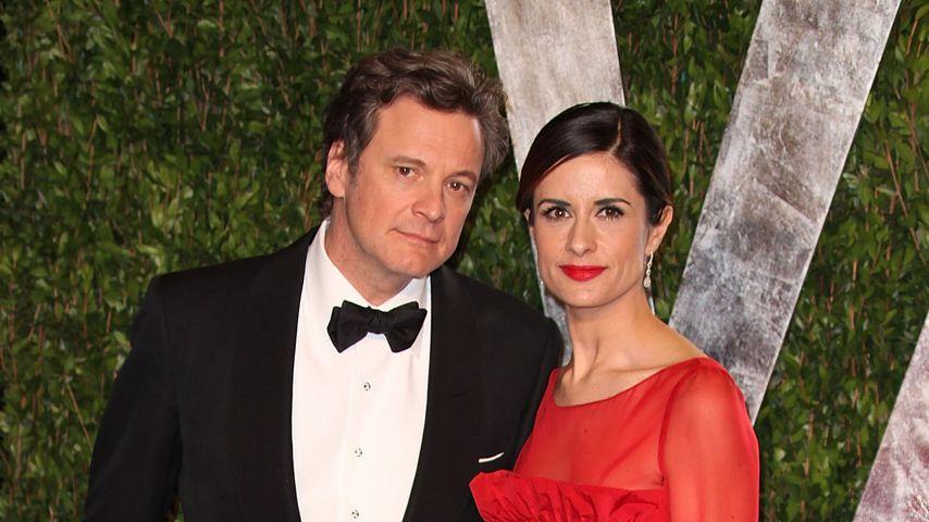 Anzeige erstattet: Colin Firth & seine Frau von Ex gestalkt!