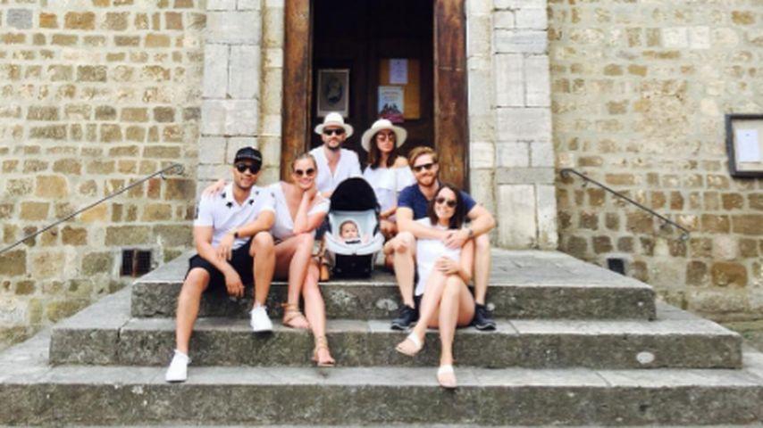 Lohn Legend, Chrissy Teigen und Luna Simone in Italien