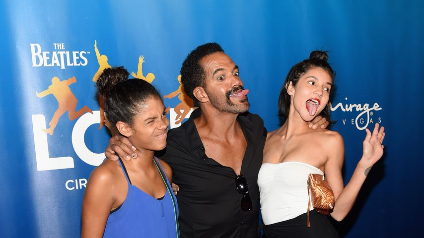 Lola, Kristoff und Paris St. John im Juli 2016