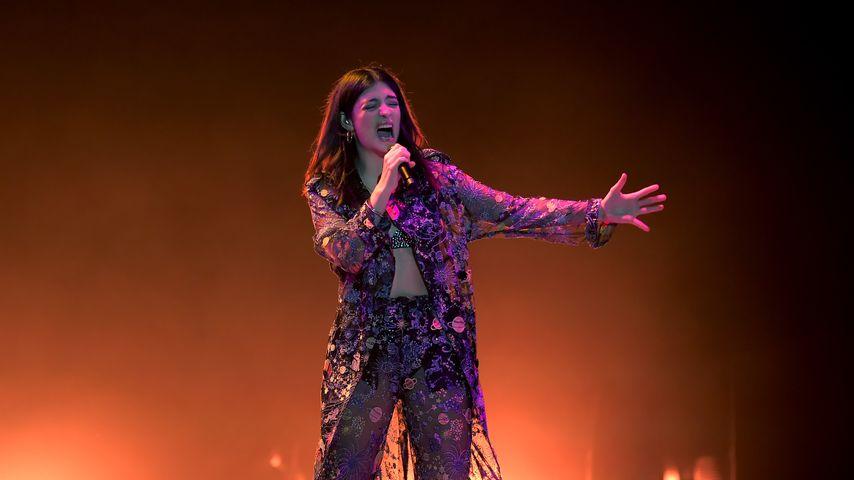 Lorde bei einem Auftritt im März 2018