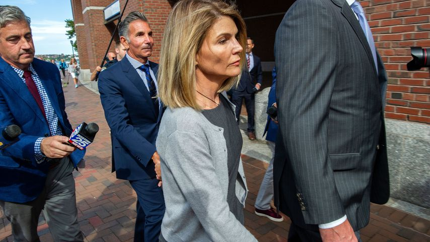 Lori Loughlin vor Gericht in Boston im August 2019