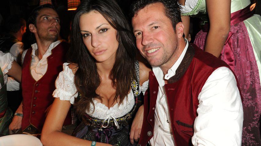 Lothar Matthäus und Joanna Tuczynska