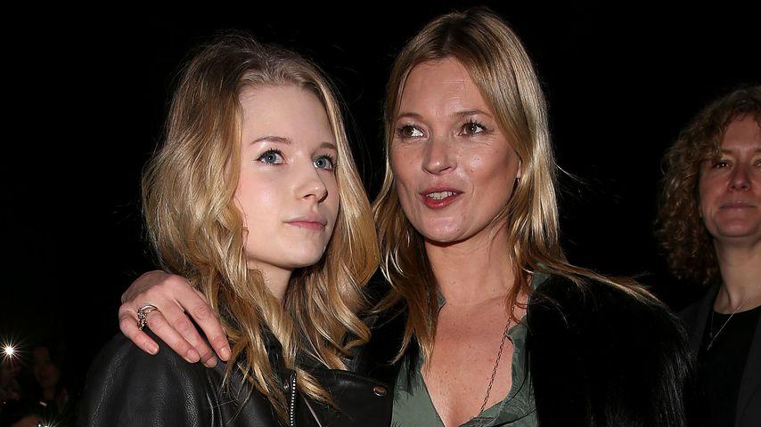 Süße Knutsch-Bilder: Kate Moss und Jamie in Love