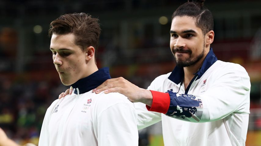 Brian Bevan und Louis Smith (r.)