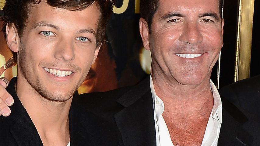 Baby bestätigt? Simon Cowell redet von Daddy Louis Tomlinson