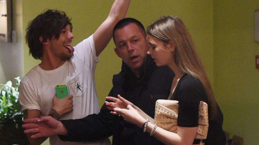 Erwischt! 1D-Louis nahm diese sexy Lady mit ins Hotel