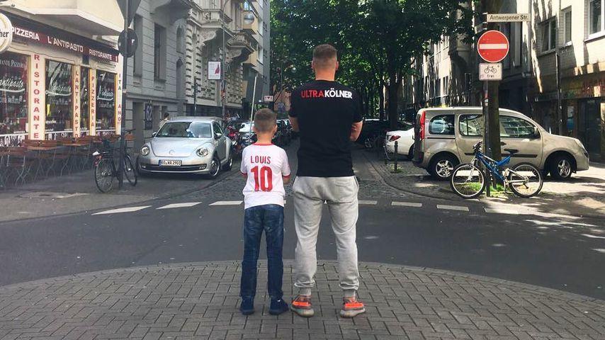 Louis und Lukas Podolski in Köln