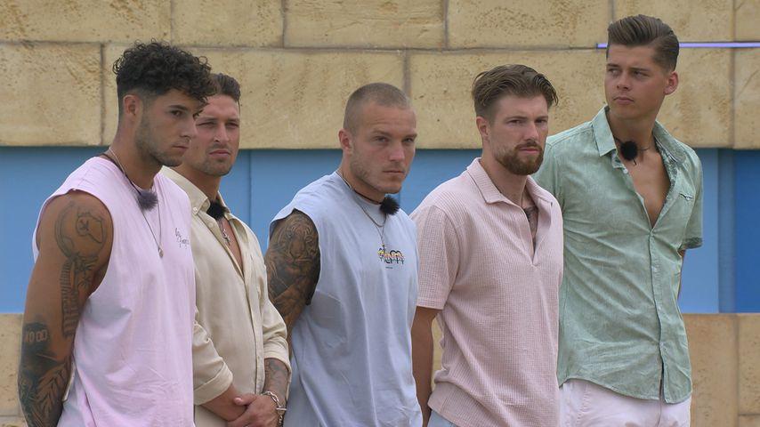 """""""Love Island""""-Dennis, Jannick, Martin, Domenik und Robin"""