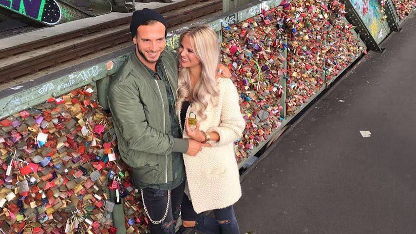 """Love Island""-Kandidaten Julian und Stephanie in Köln"