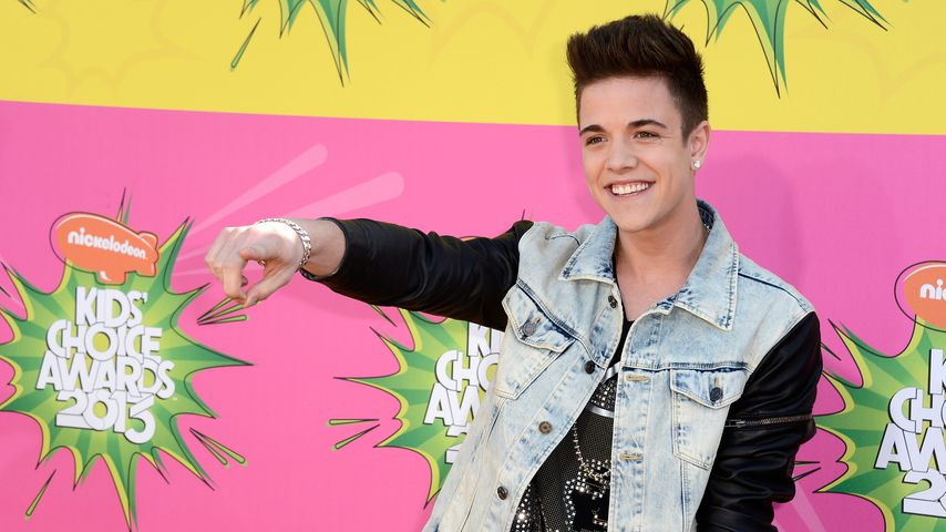 Luca Hänni bei den Kids' Choice Awards 2013 in Los Angeles