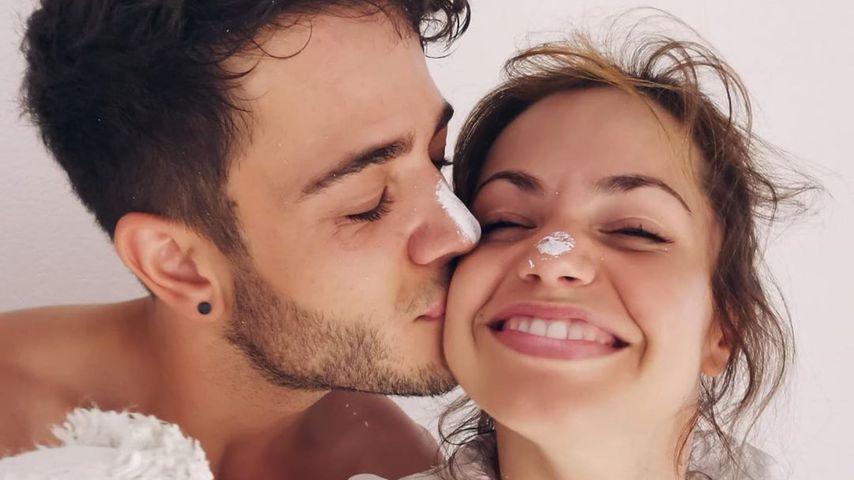 """""""Sehr happy"""": Christina Luft teilt neues Paar-Pic mit Luca"""