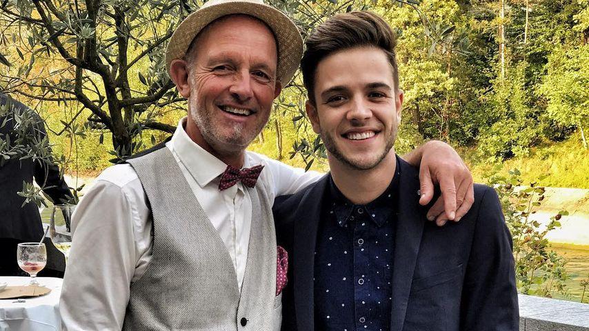 Vor DDD-Start: Luca Hänni feiert Hochzeit seines Papas!