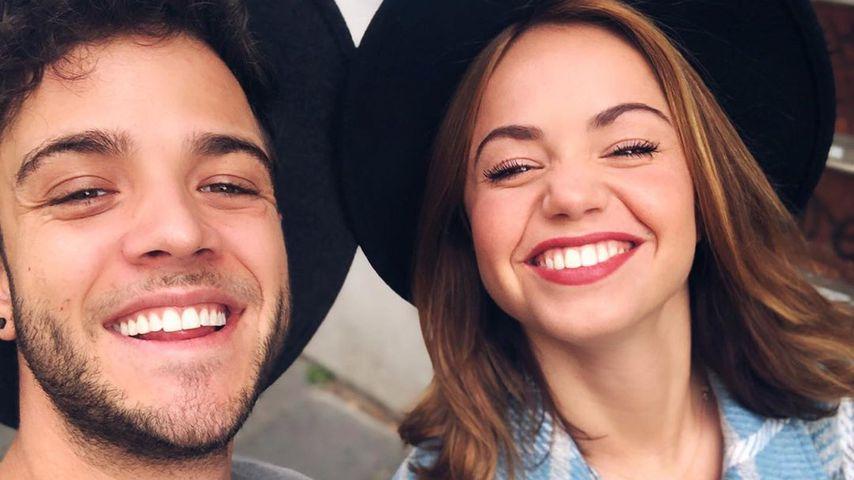 Luca Hänni und Christina Luft, September 2020