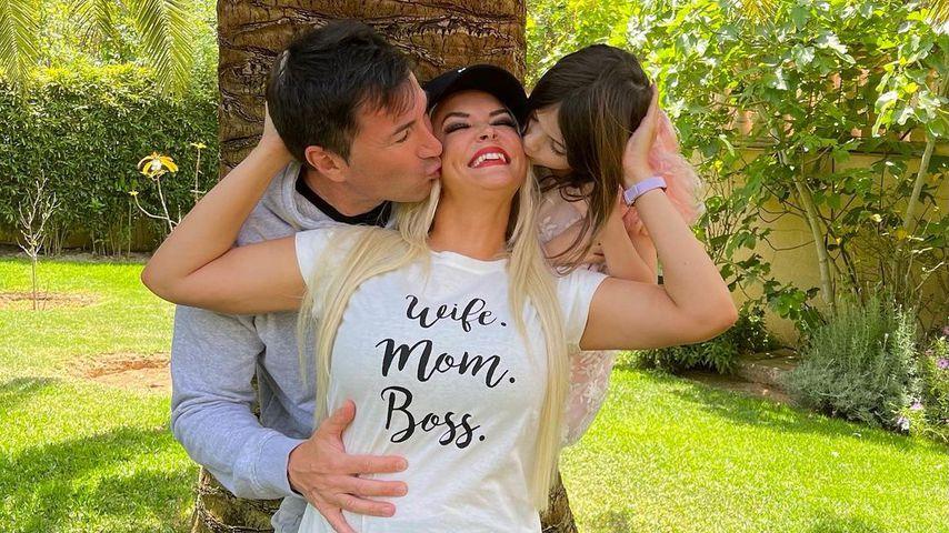 Lucas Cordalis, Daniela Katzenberger und ihre Tochter Sophia