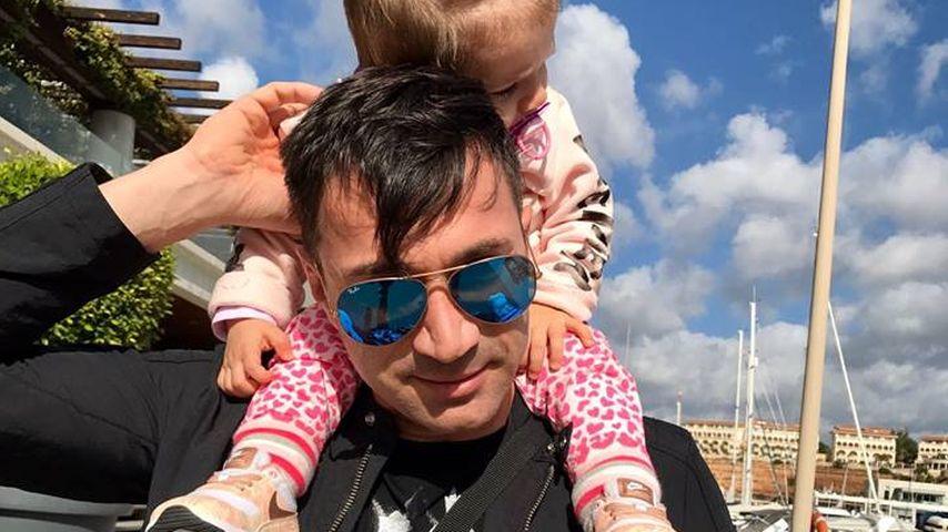 Bilderbuchpapa: Lucas Cordalis mit Sophia ans Ende der Welt