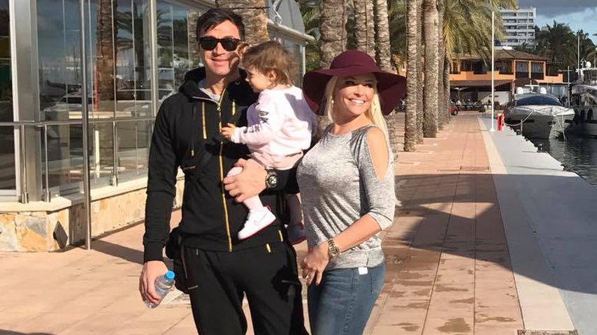 Lucas Cordalis und Daniela Katzenberger mit Tochter Sophia Cordalis
