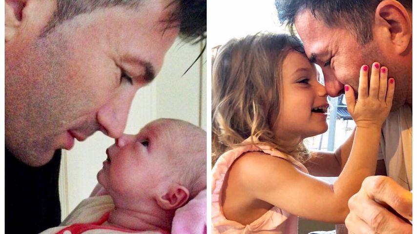 Süßer Kätzchen-Throwback: Lucas Cordalis und Baby Sophia