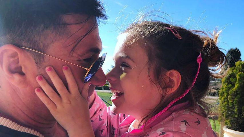 Süßes Papa-Tochter-Duo: Lucas Cordalis schmust mit Sophia