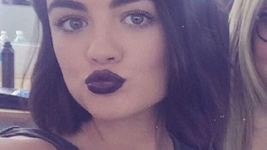 Lucy Hale: Dank PLL jetzt eine Make-up-Artistin