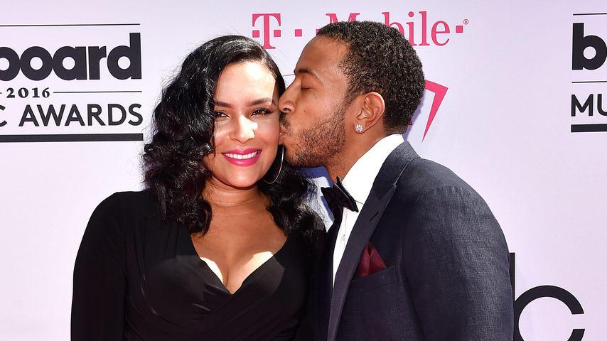 Ludacris mit seiner Frau Eudoxie im Mai 2016