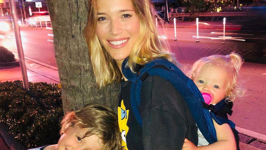 Luisana Lopilato mit ihren Kindern