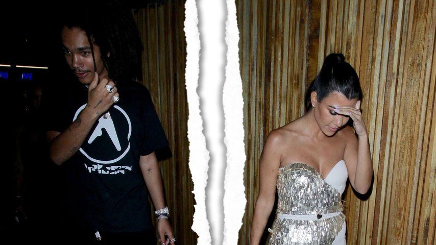 Toyboy abserviert: Kourtney Kardashian ist wieder Single!