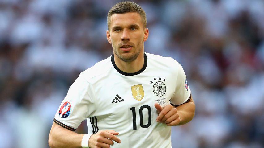 Lukas Podolski bei der UEFA EURO 2016