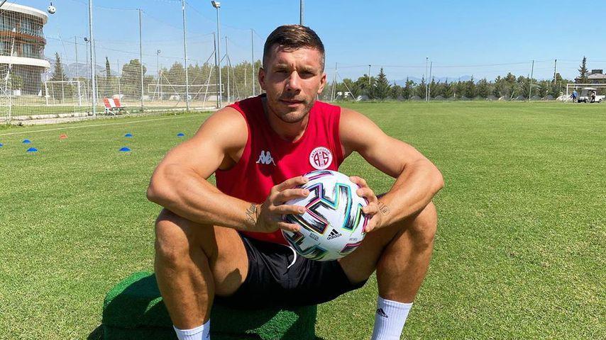 Lukas Podolski im August 2020