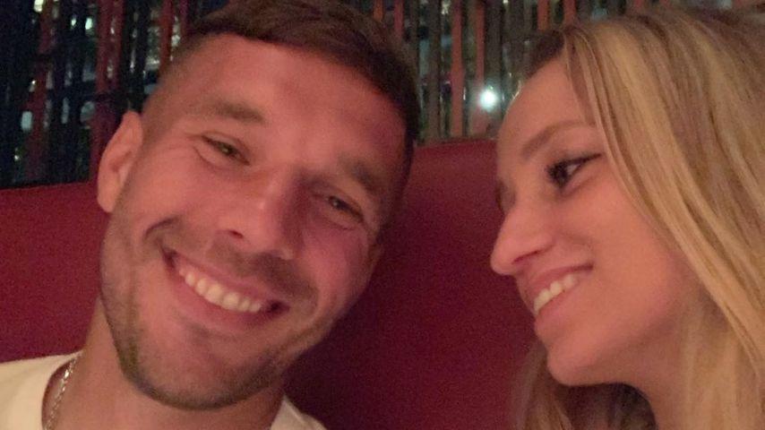 Lukas Podolski teilt seltenes Pärchen-Foto mit seiner Monika