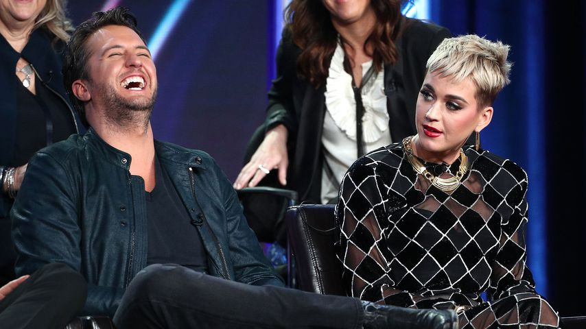 """Luke Bryan und Katy Perry, """"American Idol""""-Juroren"""