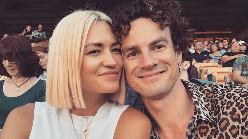 Luke Cook (rechts) mit seiner Freundin Kara Wilson