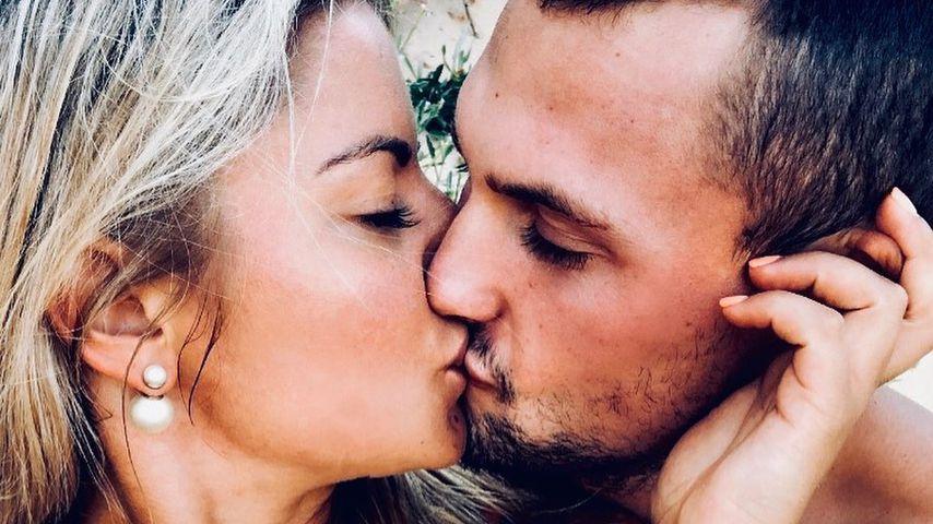 Luke Packham und seine Partnerin, Dezember 2019