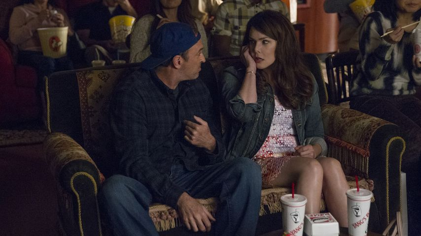 "Scott Patterson und Lauren Graham bei ""Gilmore Girls"""