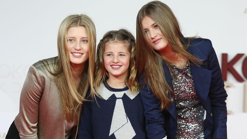Luna, Emma und Lilly Schweiger, 2013