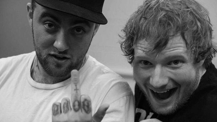 """Macht mich traurig"": Ed Sheeran trauert um toten Mac Miller"