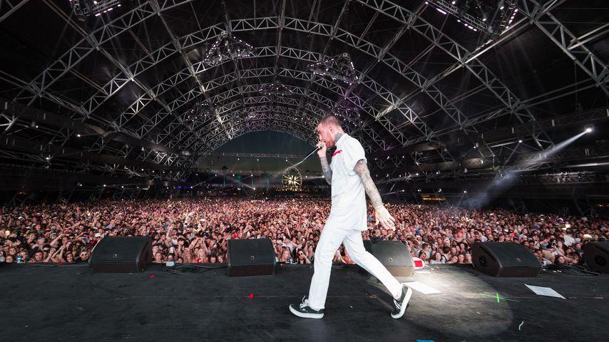 Mac Miller beim Coachella Festival 2017