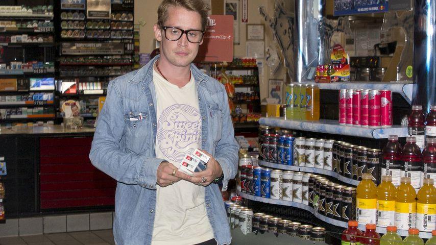 Macaulay Culkin wieder im Kevin-Look! Und die Co-Stars?