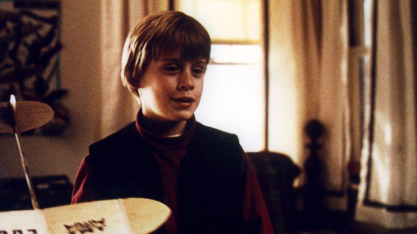 """Macaulay Culkin in einer Szene in """"Kevin – Allein in New York"""""""