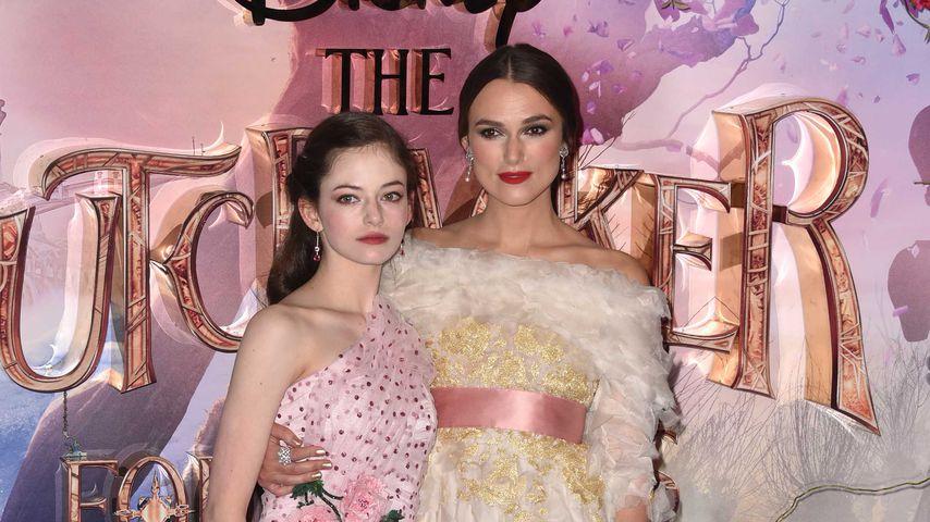 """Mackenzie Foy und Keira Knightley bei der Premiere von """"Der Nussknacker und die vier Reiche"""""""