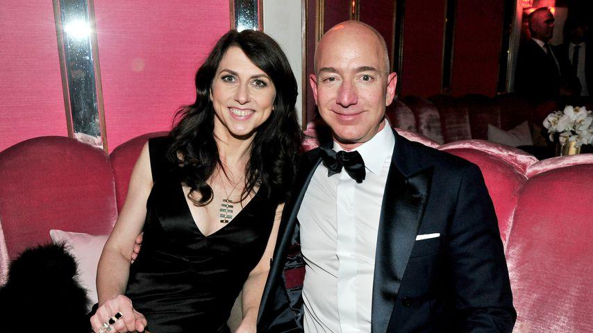 MacKenzie und Jeff Bezos, 2017