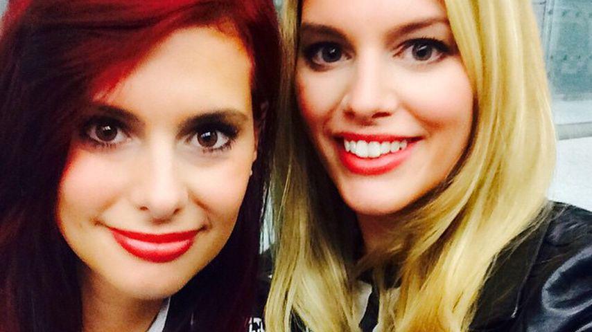 Hübsches Doppel: Das ist Angelina Kirschs Zwillingsschwester