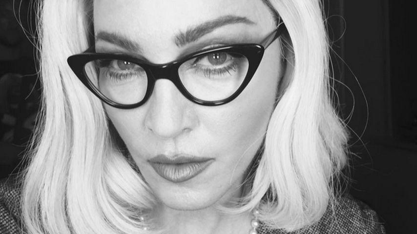Sexy Look! Madonna als verruchte Lehrerin