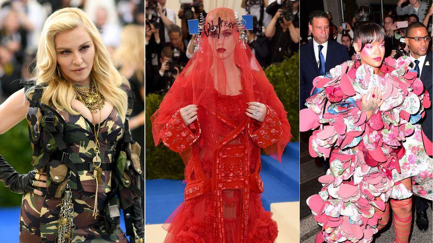 Met Gala 2017: Das waren die kuriosesten Looks der Stars!